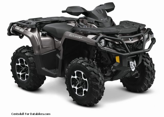 2012 Bombardier  BRP Can-Am Outlander 1000 XT EC NEW RRP € 15,999 Motorcycle Quad photo