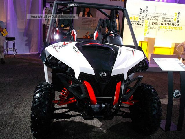 2012 Bombardier  BRP Can-Am Maverick 1000XXC-2014 Motorcycle Quad photo