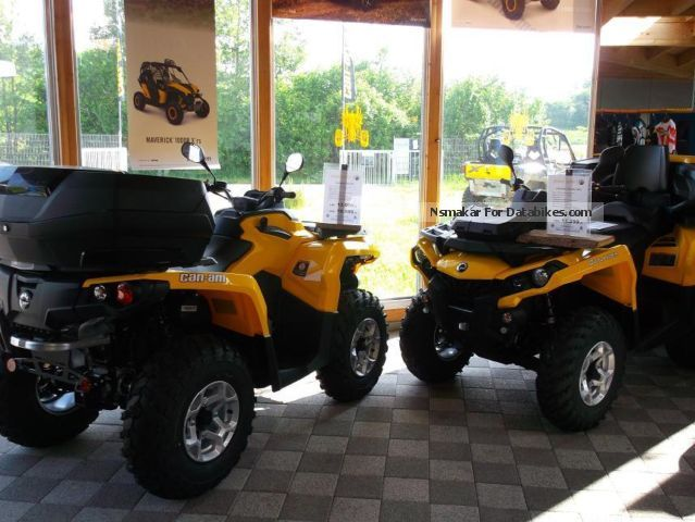 2012 Bombardier  BRP Can-Am Outlander 500 DPS 2014 Motorcycle Quad photo