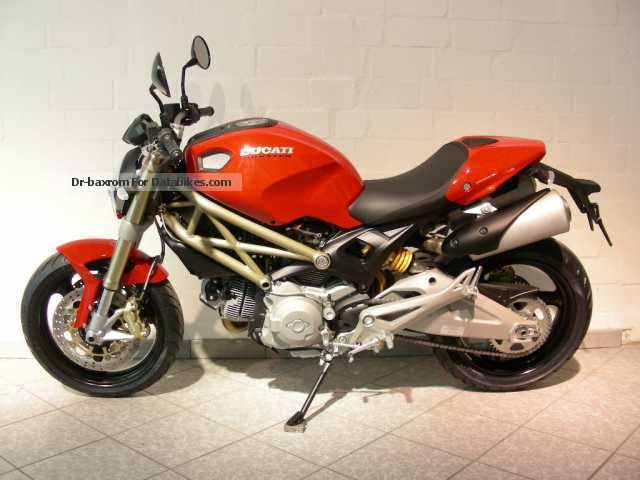 DUCATI Monster 696 ABS - 20th Anniversary - YouTube