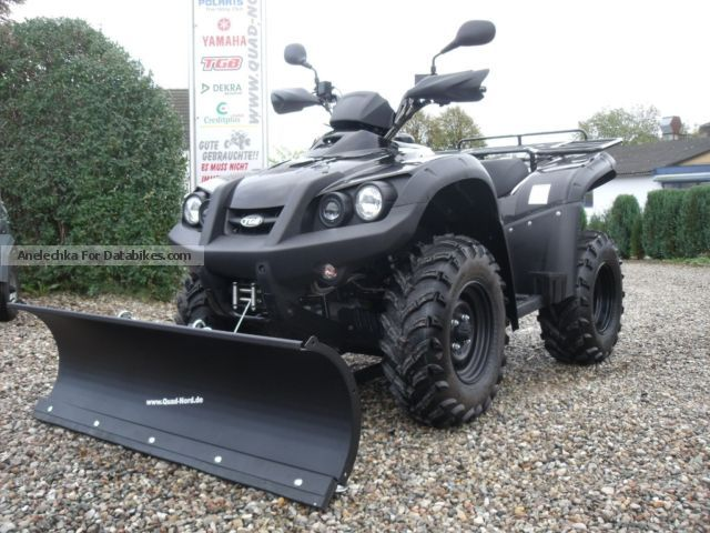 2012 TGB  Blade 500R snow shovel winter service Motorcycle Quad photo