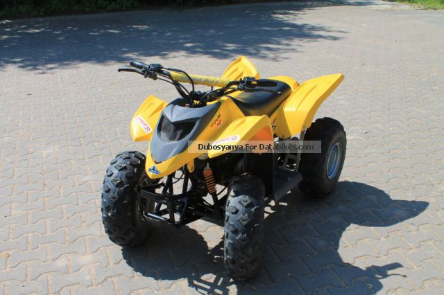 2009 Adly  Hercules 50 V Motorcycle Quad photo