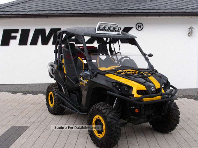 2013 Can Am Commander 1000 X Lof Accessories Great Price