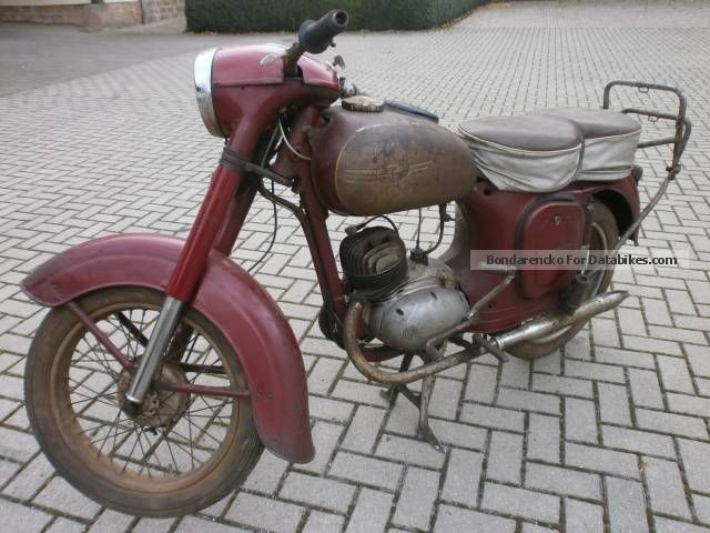 Jawa  150 Type 352 1955 Vintage, Classic and Old Bikes photo
