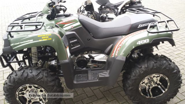 2013 Aeon  Crossland 400 4x4 retail price by the dealer Motorcycle Quad photo