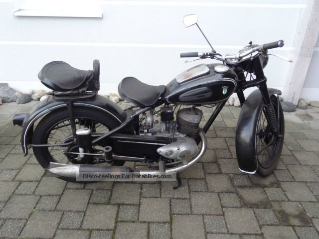 DKW  200 RT 1951 Vintage, Classic and Old Bikes photo