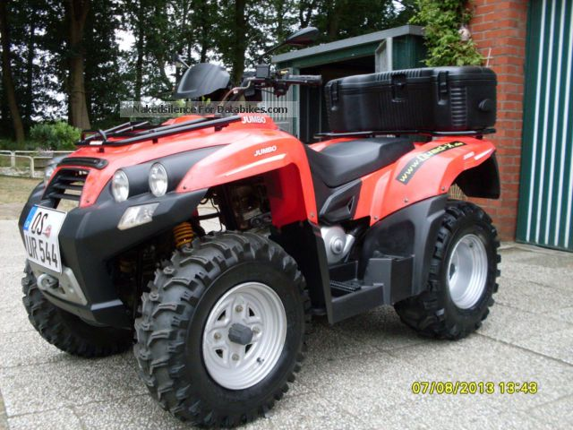 SMC  Jumbo with case, winch and towbar 2007 Quad photo