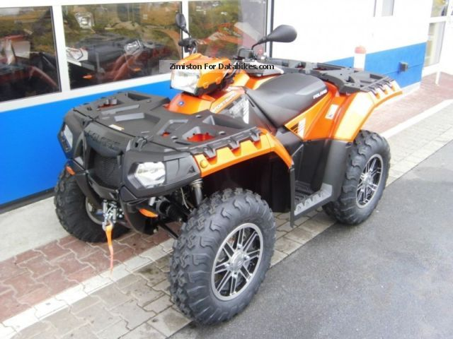 2012 Polaris  Sportsman XP 850 H.O. EPS Forest Limited Edition Motorcycle Quad photo