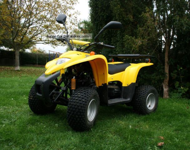 2013 Adly  50 ATV Quad / street legal Motorcycle Quad photo
