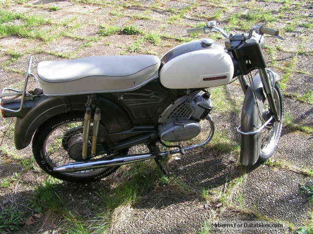 1964 Zundapp  Zündapp 515 Motorcycle Motor-assisted Bicycle/Small Moped photo