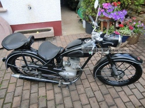 DKW  RT 125 vintage motorcycle - Auto Union - 1954 1954 Vintage, Classic and Old Bikes photo