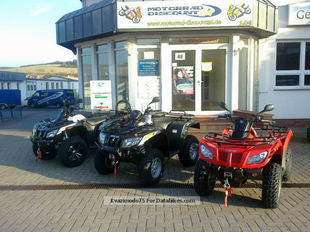 2012 Arctic Cat  I 1000 XT winch servo LOF warning MY2013 Motorcycle Quad photo