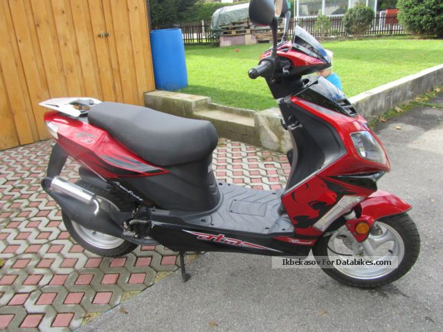 2009 Baotian  bt 49 Motorcycle Scooter photo