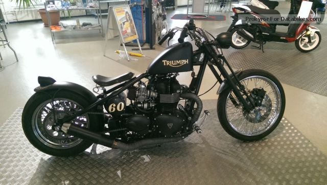 2012 Triumph  Custom Bike Motorcycle Chopper/Cruiser photo