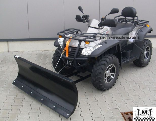 2013 CFMOTO  CF 625-C incl snow blade finance. mög! Motorcycle Quad photo