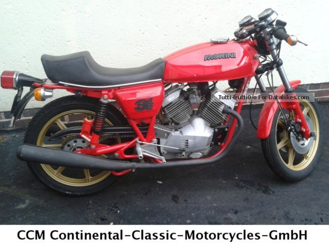 Moto Morini  3 1/2 1979 Vintage, Classic and Old Bikes photo