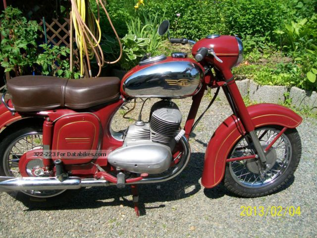 Jawa  350 1956 Vintage, Classic and Old Bikes photo