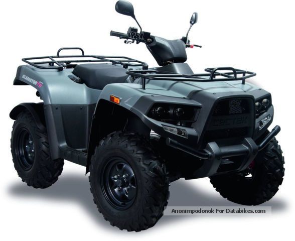 2012 Cectek  Gladiator + snow shield Motorcycle Quad photo