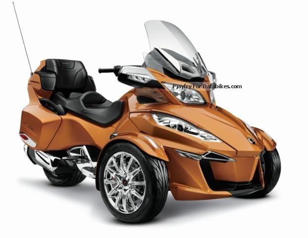 2012 Can Am  Spyder RT Roadster, new model 2014, 3 tubes, Motorcycle Trike photo