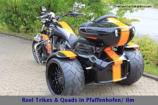 2012 Rewaco  CT 1700V 8 Ball Motorcycle Trike photo