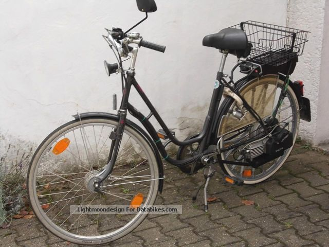 Herkules  Saxonette bicycle with auxiliary engine 1994 Other photo
