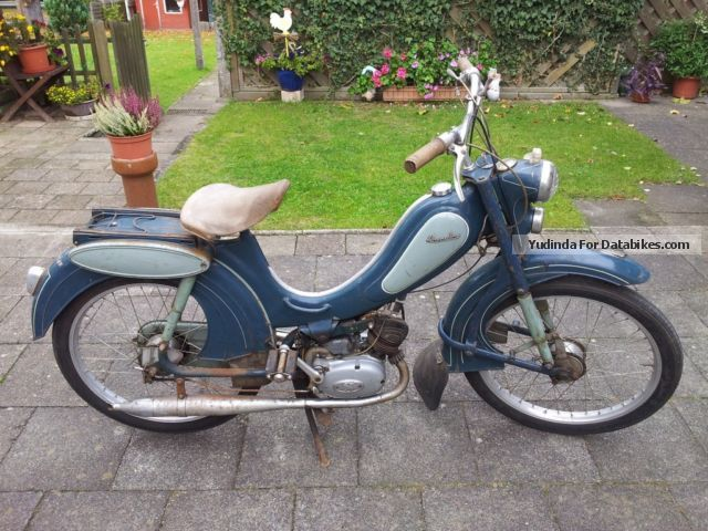 1956 Sachs  Hercules Motorcycle Motor-assisted Bicycle/Small Moped photo