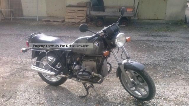 1984 BMW  R 80 Motorcycle Naked Bike photo