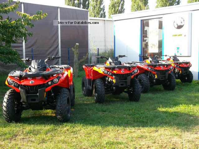 Can Am  BRP Outlander 500 2012 Quad photo