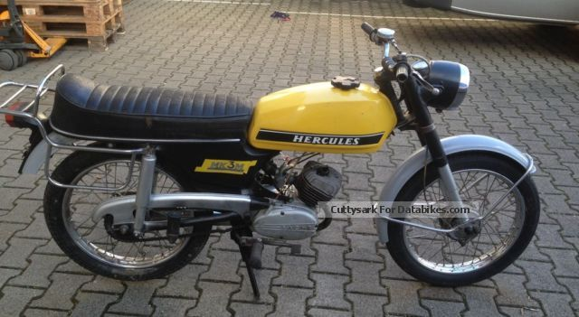 Hercules  MK3M Runs Very good with papers 1974 Vintage, Classic and Old Bikes photo