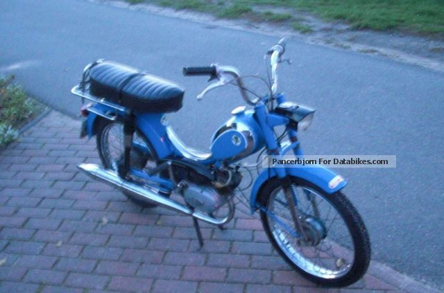 DKW  632 MP4 moped moped from the 70s. 1972 Vintage, Classic and Old Bikes photo