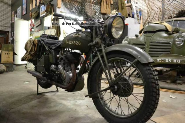 Norton  16H WK2 WH 1941 Vintage, Classic and Old Bikes photo