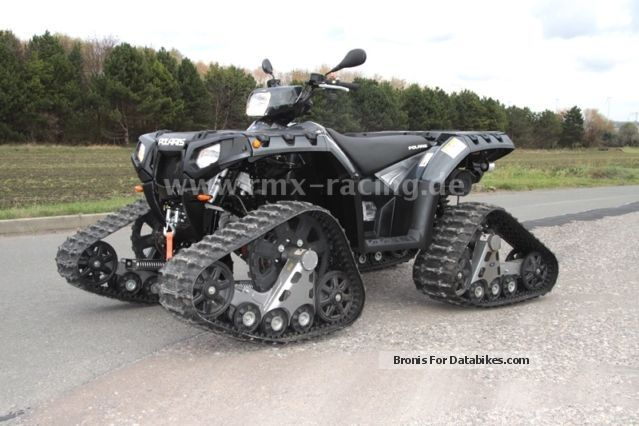 2013 Polaris  Sportsman 550 EPS with LOF and Raupenkit! Motorcycle Quad photo