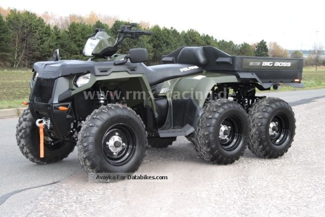 2013 Polaris  Sportsman 800 6x6 - including LOF-approval! Motorcycle Quad photo