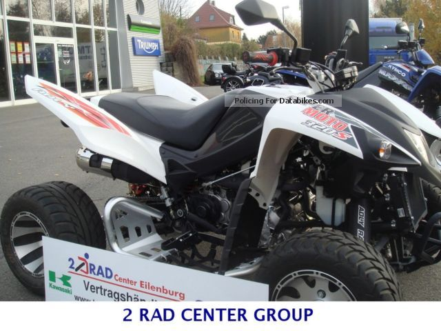 2012 Adly  320s Supermoto SUZUKI WORLD TESTING EILENBURG Motorcycle Quad photo