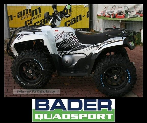 2012 Adly  X 6.5 ** 2013 ** NEW MODEL WITH LED PARKING LIGHTS Motorcycle Quad photo