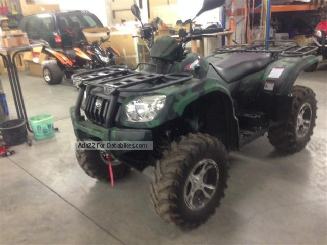 2012 Explorer  Atlas Edition XL 500 LoF with snow plow Motorcycle Quad photo