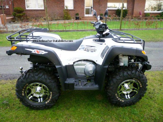 2012 Explorer  Patriot 4x4 430 DeLuxe Motorcycle Quad photo