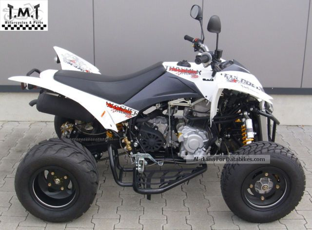 2013 Explorer  Trasher 320 Supermoto Financing Available! Motorcycle Quad photo
