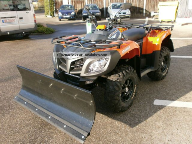 Dinli  Centhor LOF 700 with Snow Blade Special Price 2012 Quad photo
