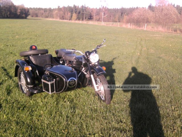 1984 Ural  Dnepr MT 11 Motorcycle Combination/Sidecar photo