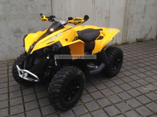 2013 Can Am  Renegade 500 Motorcycle Quad photo