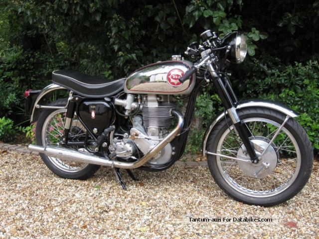 BSA  Goldstar DBD34 1961 Vintage, Classic and Old Bikes photo