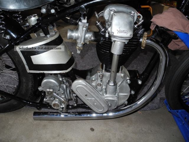 1933 Norton  INTER Motorcycle Racing photo