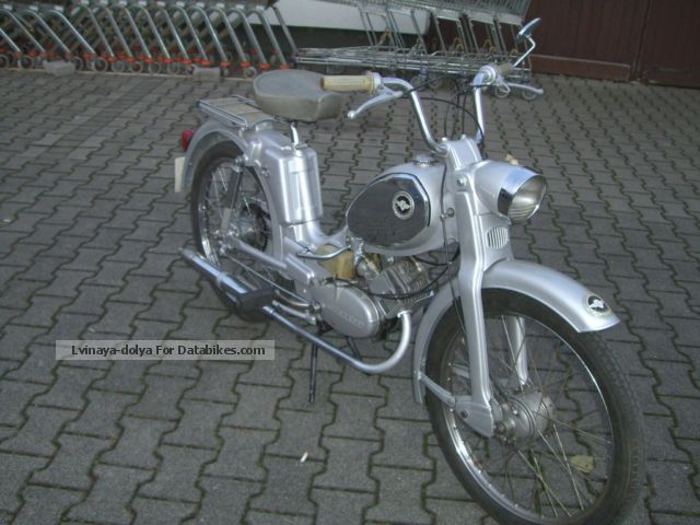 1972 Zundapp  Zündapp climbers M25 TOP CONDITION Motorcycle Motor-assisted Bicycle/Small Moped photo