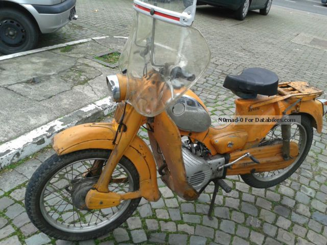 Zundapp  Zündapp C50 moped factory 1974 Vintage, Classic and Old Bikes photo