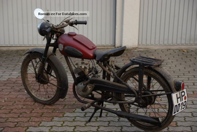 Sachs  Göricke 98 1955 Vintage, Classic and Old Bikes photo