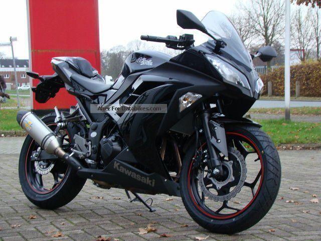 Kawasaki ZX300R Ninja Performance With ABS 2013 Sports Super Bike Photo