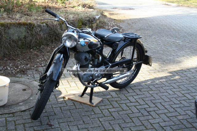 NSU  Fox 101 OSB 1955 Vintage, Classic and Old Bikes photo