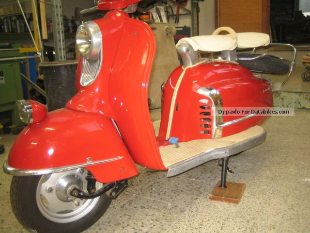 NSU  Prima 5 star, very rare, 175 cc, 1956 Vintage, Classic and Old Bikes photo