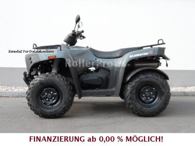 2012 Cectek  Gladiator 500 T5 IXD with LOF Motorcycle Quad photo